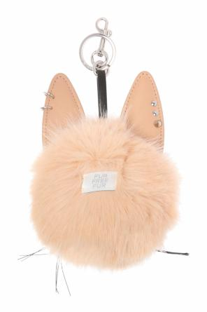 Rabbit head-shaped key ring od Stella McCartney