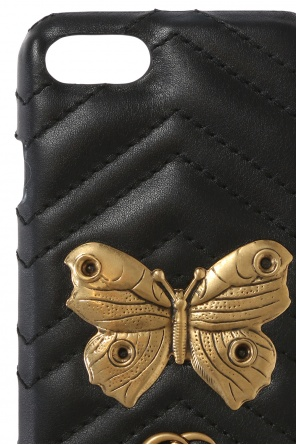 'marmont moth' iphone 7 case od Gucci