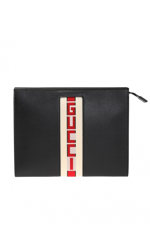 9b45a75f8d10cc Wash bag with logo Gucci - Vitkac shop online