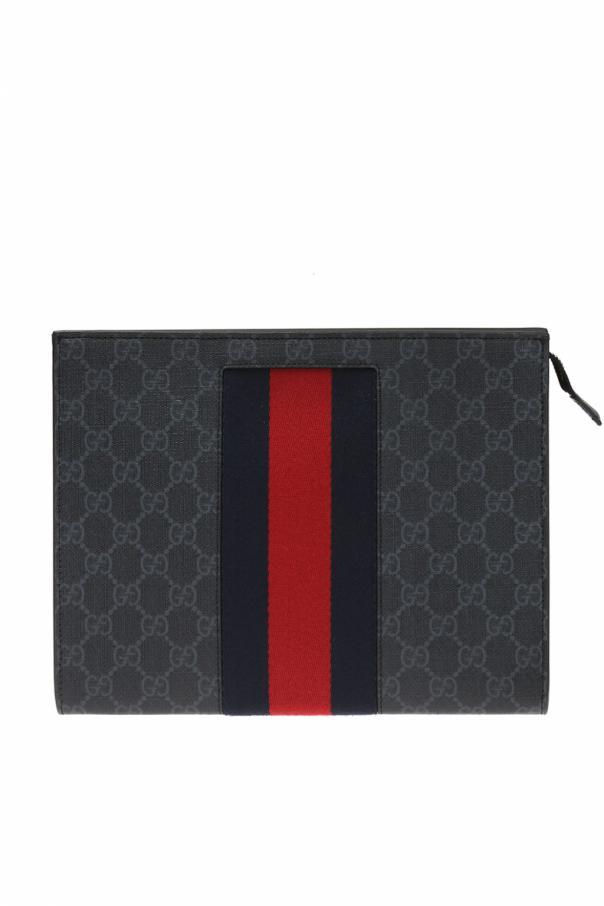 Cosmetics bag with logo od Gucci