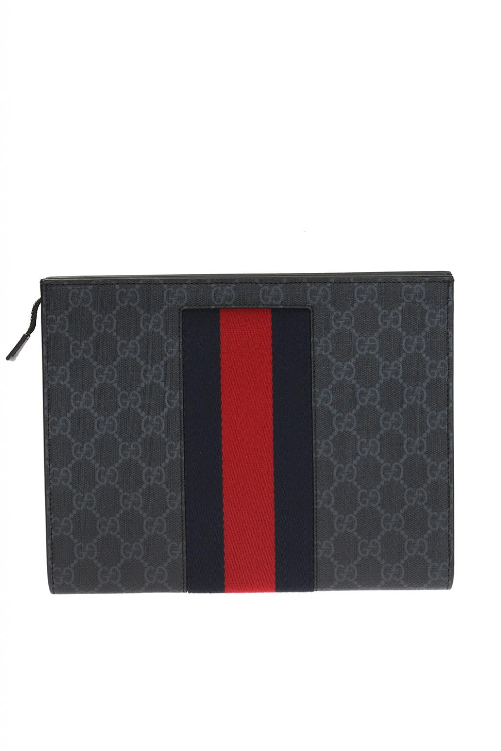 Gucci Cosmetics bag with logo
