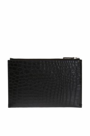 Leather clutch od Saint Laurent