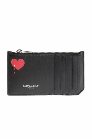 Printed card case od Saint Laurent Paris