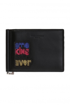 Patched bi-fold wallet od Saint Laurent