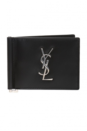 Card case with money clip od Saint Laurent