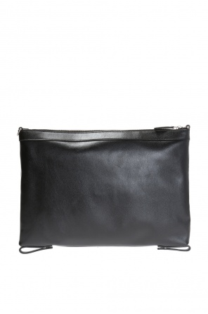 Inscription-embossed clutch od Saint Laurent