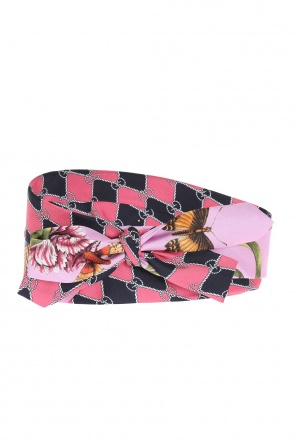 'botanic' printed head band od Gucci