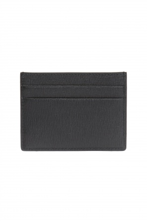 Logo-embossed card case od Balenciaga