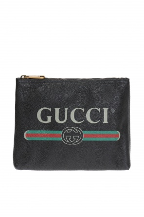 Logo-printed wash bag od Gucci