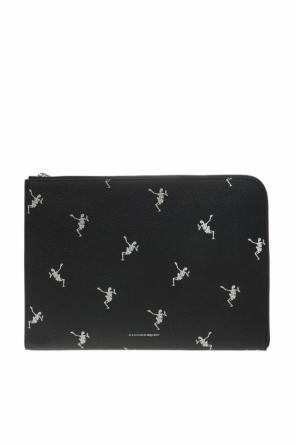 Patterned clutch od Alexander McQueen
