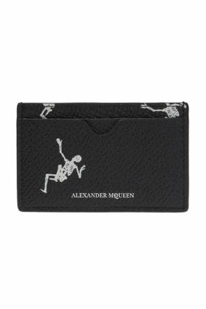 Card case with a skeleton motif od Alexander McQueen