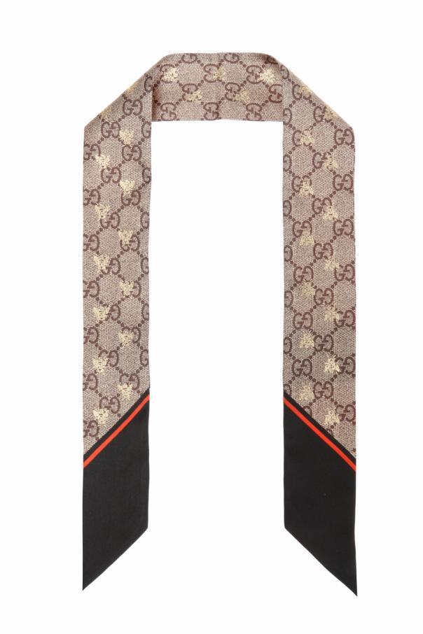 Gucci 图案围巾