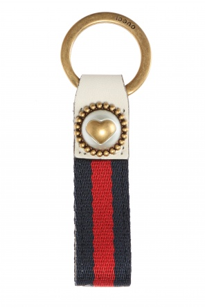 'web' key ring od Gucci