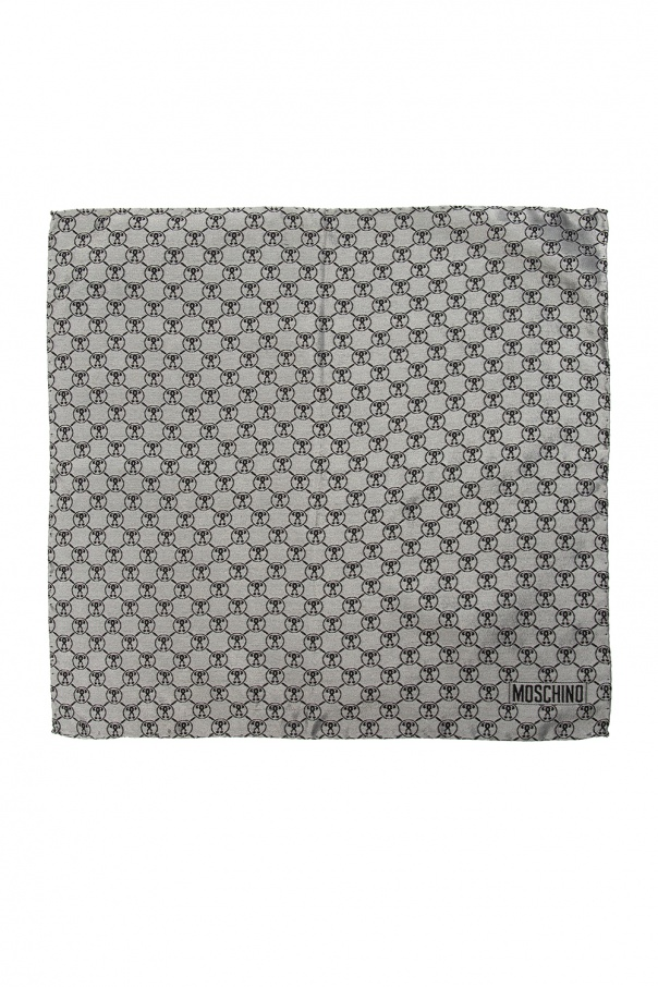 Moschino Branded pocket square