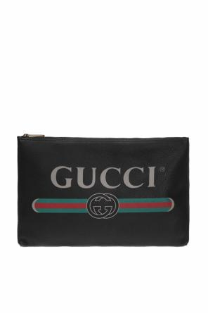 Printed clutch od Gucci