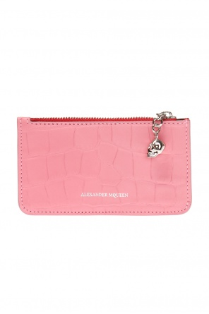Card case with skull motif od Alexander McQueen