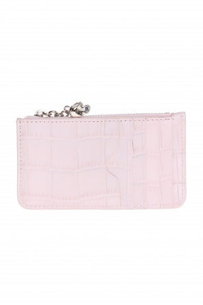 Card case with charm od Alexander McQueen