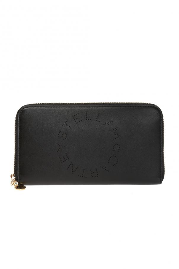 Stella McCartney Wallet with perforated logo
