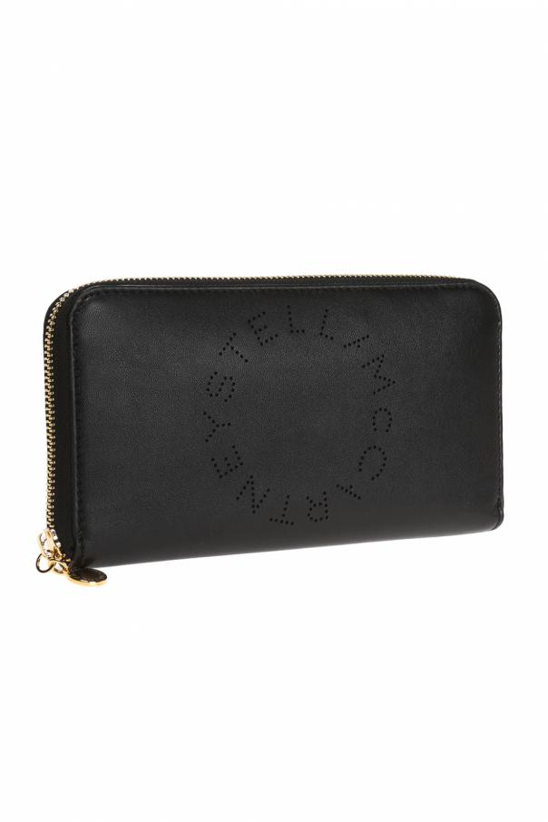 Wallet with perforated logo od Stella McCartney