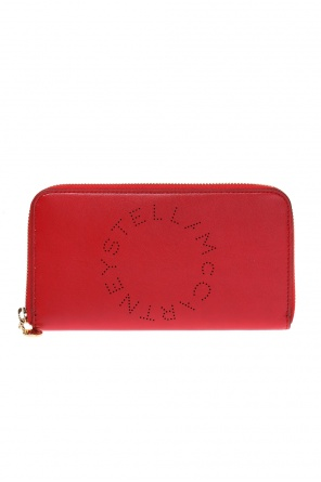 Wallet with a perforated logo od Stella McCartney