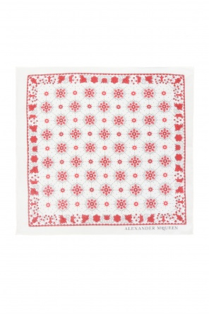 Patterned pocket square od Alexander McQueen