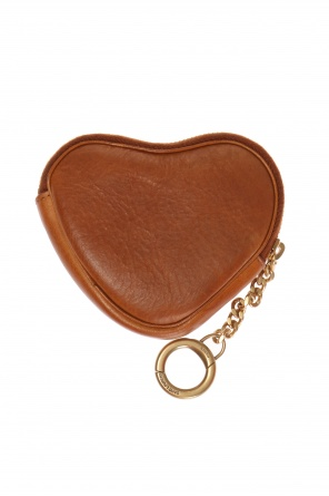 Heart-shaped key holder od Saint Laurent