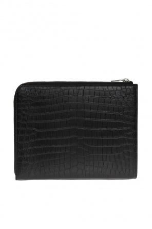 Leather tablet case od Saint Laurent