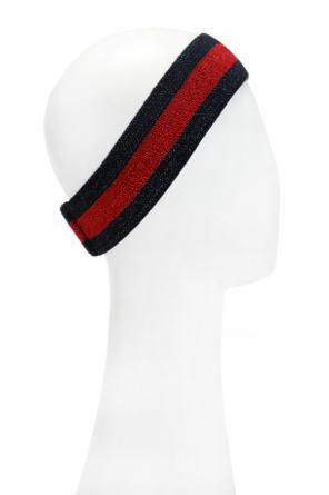 'web' head band od Gucci Kids