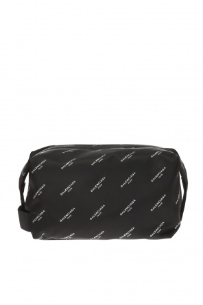Logo-printed wash bag od Balenciaga