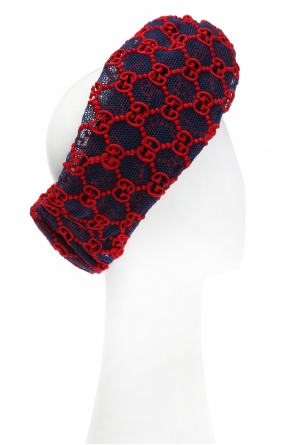 Logo-embroidered head band od Gucci