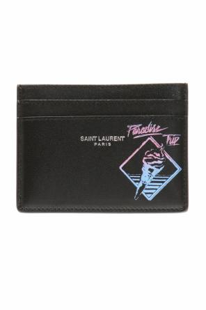 Printed card case od Saint Laurent