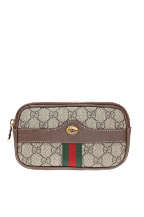 Iphone case with 'web' strap od Gucci