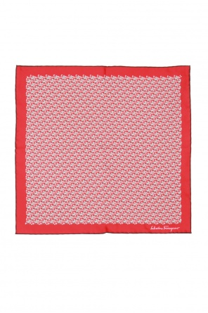 Silk pocket square od Salvatore Ferragamo