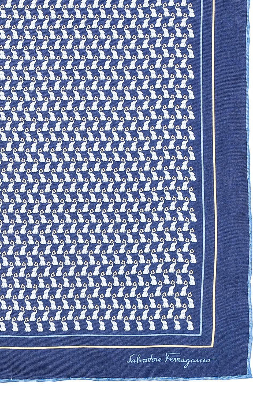Salvatore Ferragamo Silk pocket square