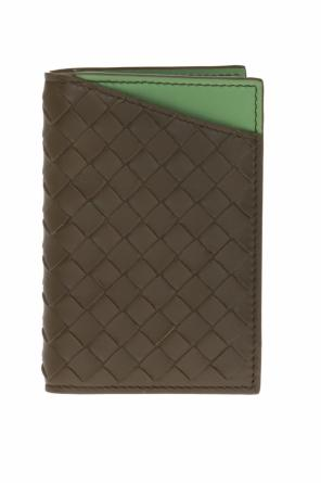 Bi-fold card case od Bottega Veneta