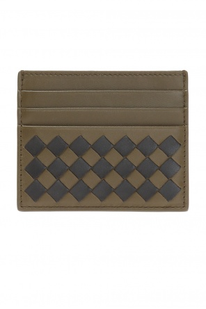 Card with  'intercciato' braid od Bottega Veneta
