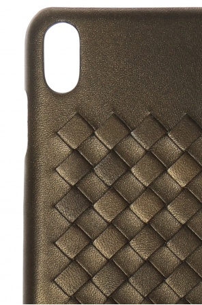 Iphone x case with an 'intercciato' braid od Bottega Veneta