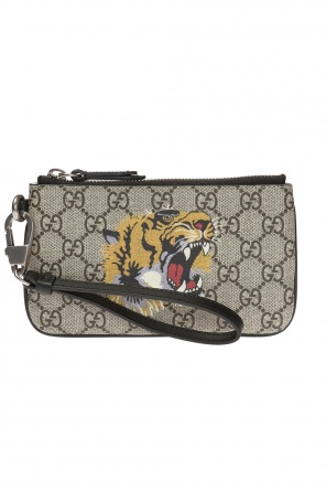 Wallet with a tiger motif od Gucci