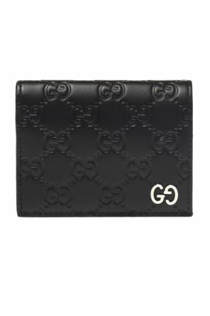 Embossed wallet od Gucci
