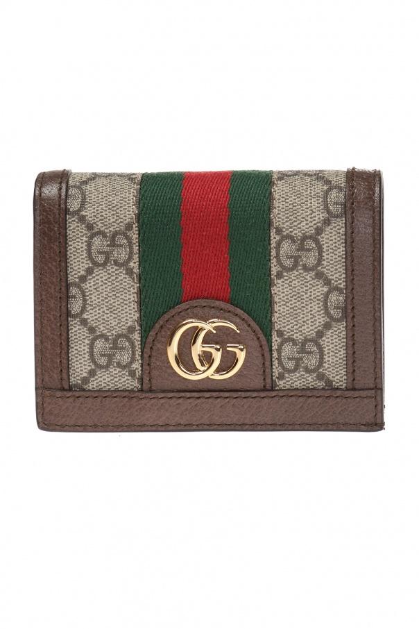 b71b300b817 GG SUPREME  canvas wallet Gucci - Vitkac shop online