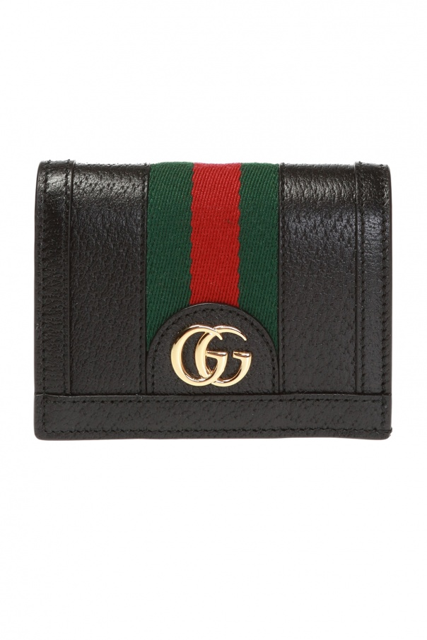 Gucci Wallet with 'Web' stripe