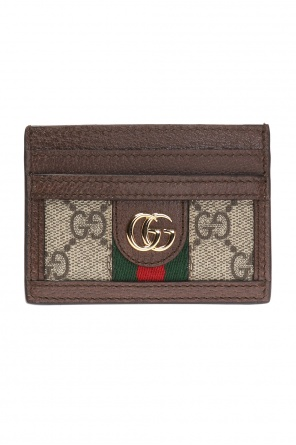 'gg supreme' card case od Gucci