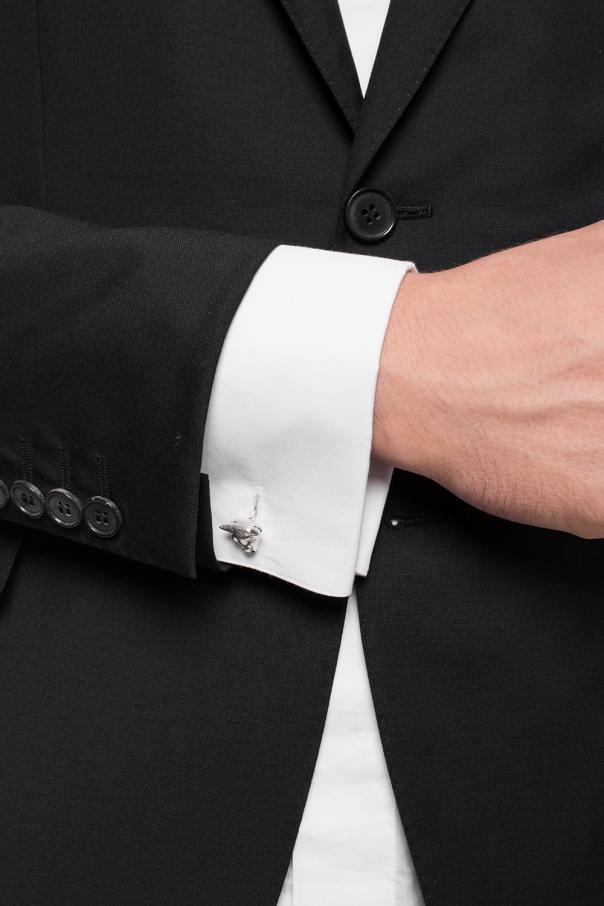 Silver cufflinks od Gucci