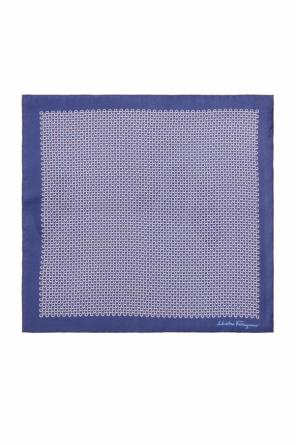 'gancini' pocket square od Salvatore Ferragamo