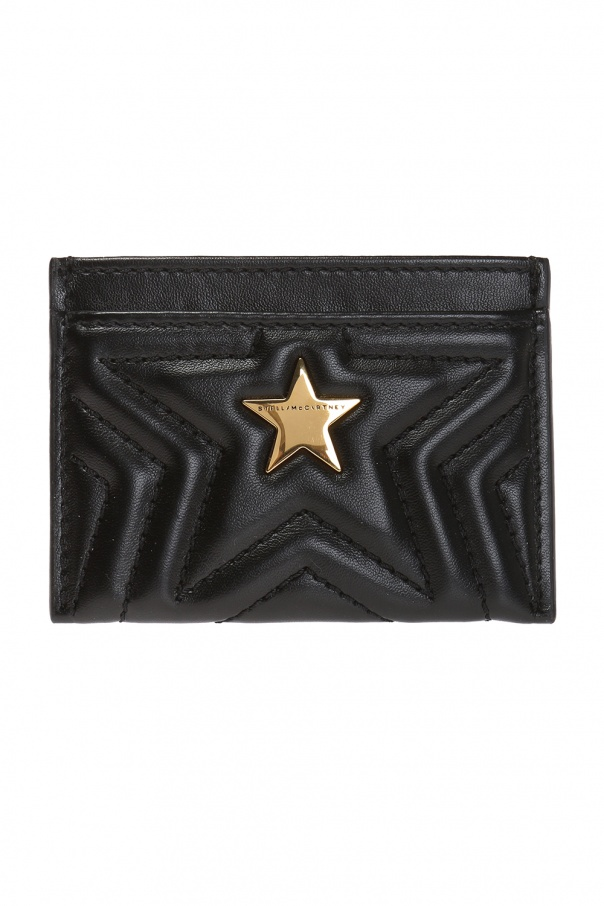 Stella McCartney Quilted card case