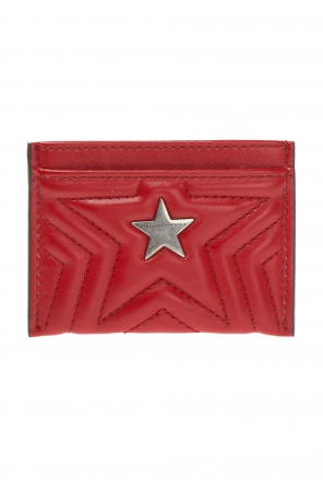 Quilted card case with a star motif od Stella McCartney