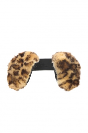 Fur earmuffs od Gucci Kids