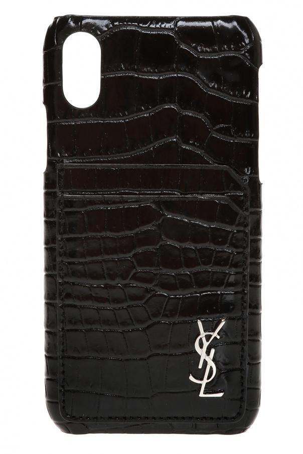 low cost 96cd9 39430 iPhone X case Saint Laurent - Vitkac shop online