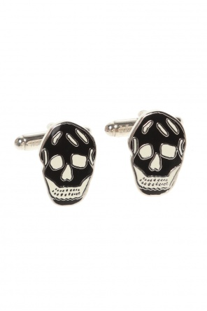 Cufflinks with logo od Alexander McQueen