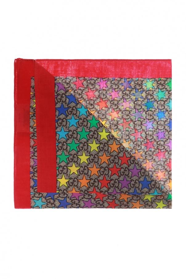Patterned scarf Gucci Kids - Vitkac shop online 5ee509bde36b